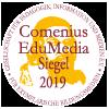 Das Comenius-EduMedia-Siegel: 2019 wurde das Medienportal von der Gesellschaft für Pädagogik, Information und Medien e. V. mit dem renommierten Siegel ausgezeichnet.